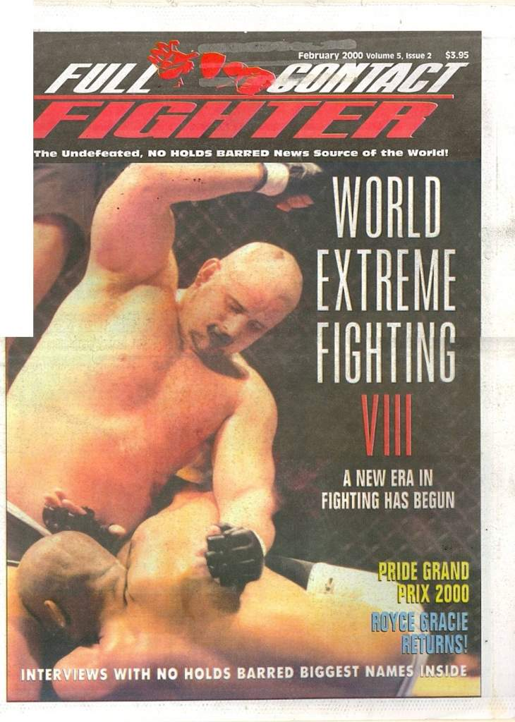 02/00 Full Contact Fighter Newspaper