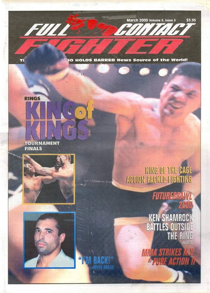 03/00 Full Contact Fighter Newspaper