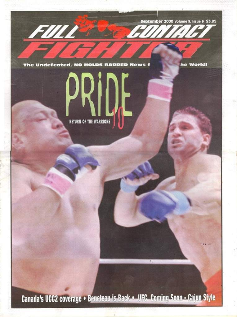 09/00 Full Contact Fighter Newspaper