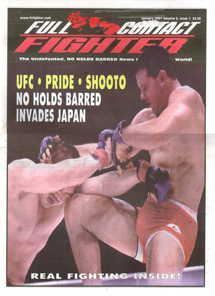 01/01 Full Contact Fighter Newspaper