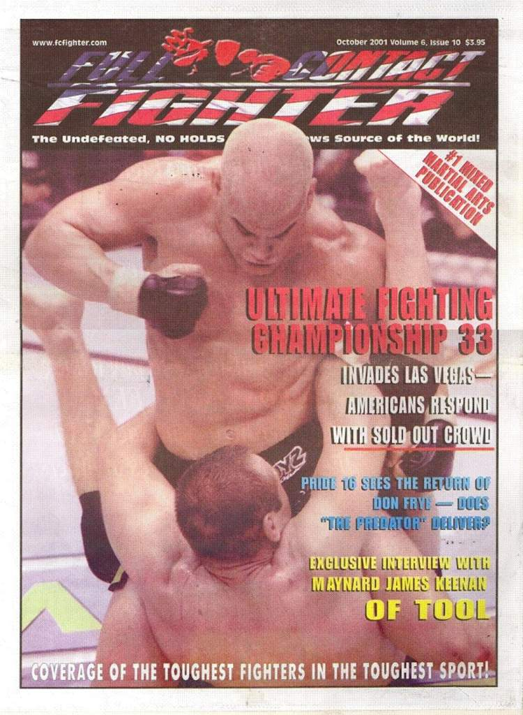 10/01 Full Contact Fighter Newspaper
