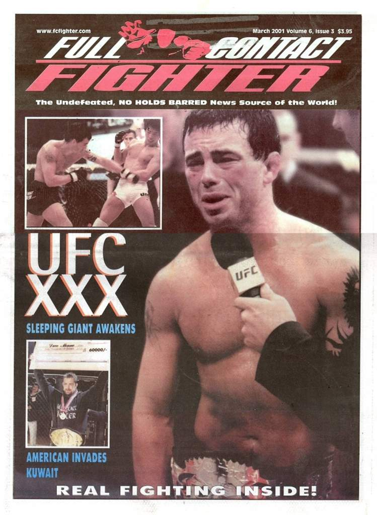 03/01 Full Contact Fighter Newspaper