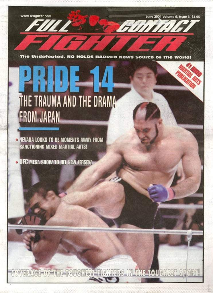 06/01 Full Contact Fighter Newspaper