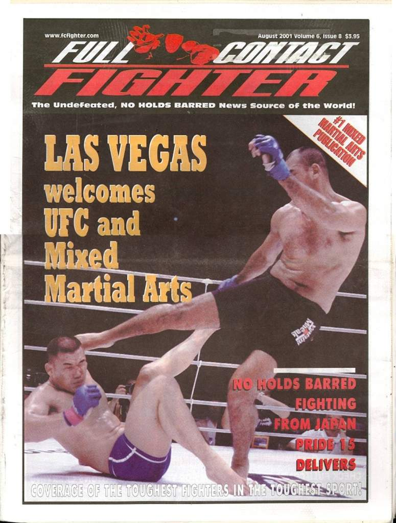 08/01 Full Contact Fighter Newspaper