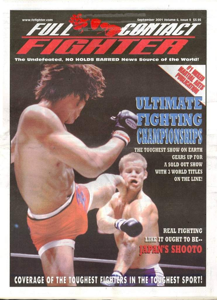 09/01 Full Contact Fighter Newspaper