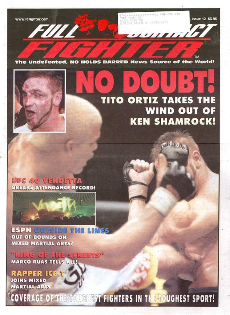 12/02 Full Contact Fighter Newspaper