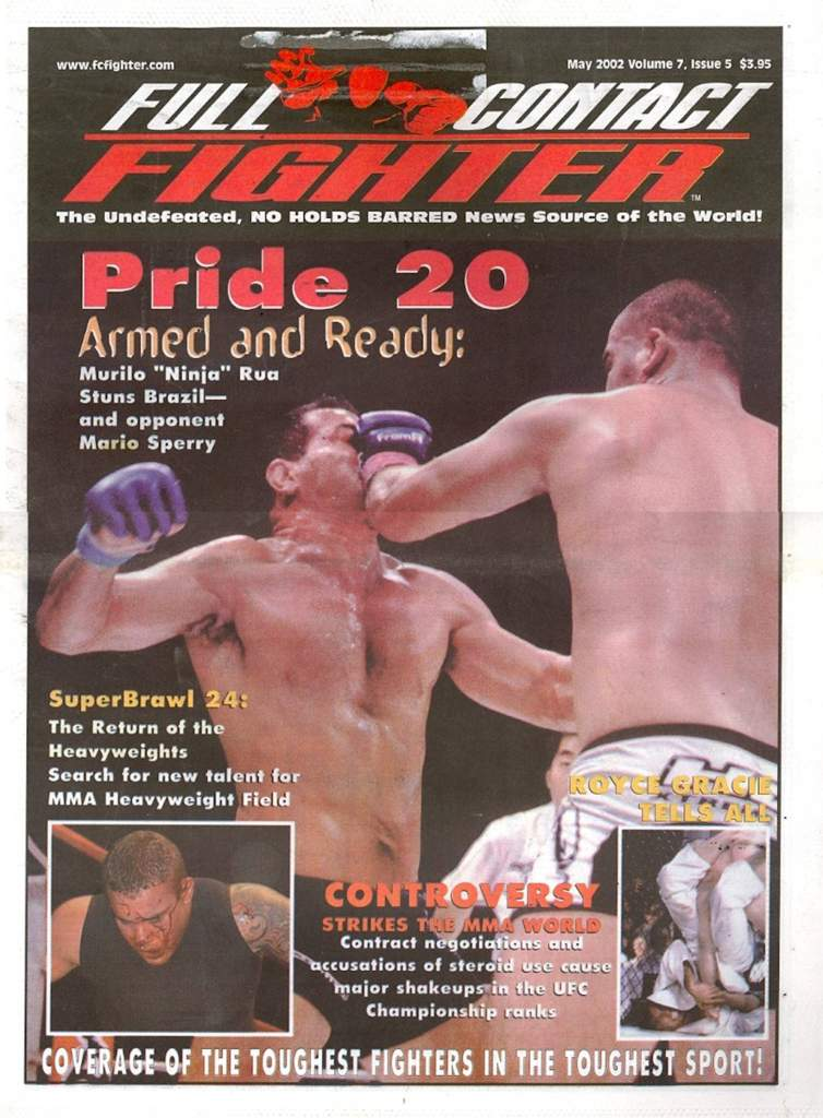 05/02 Full Contact Fighter Newspaper