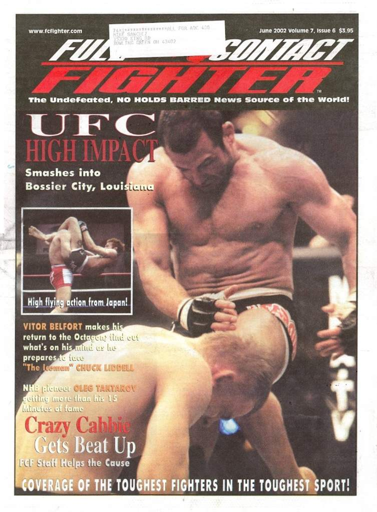 06/02 Full Contact Fighter Newspaper