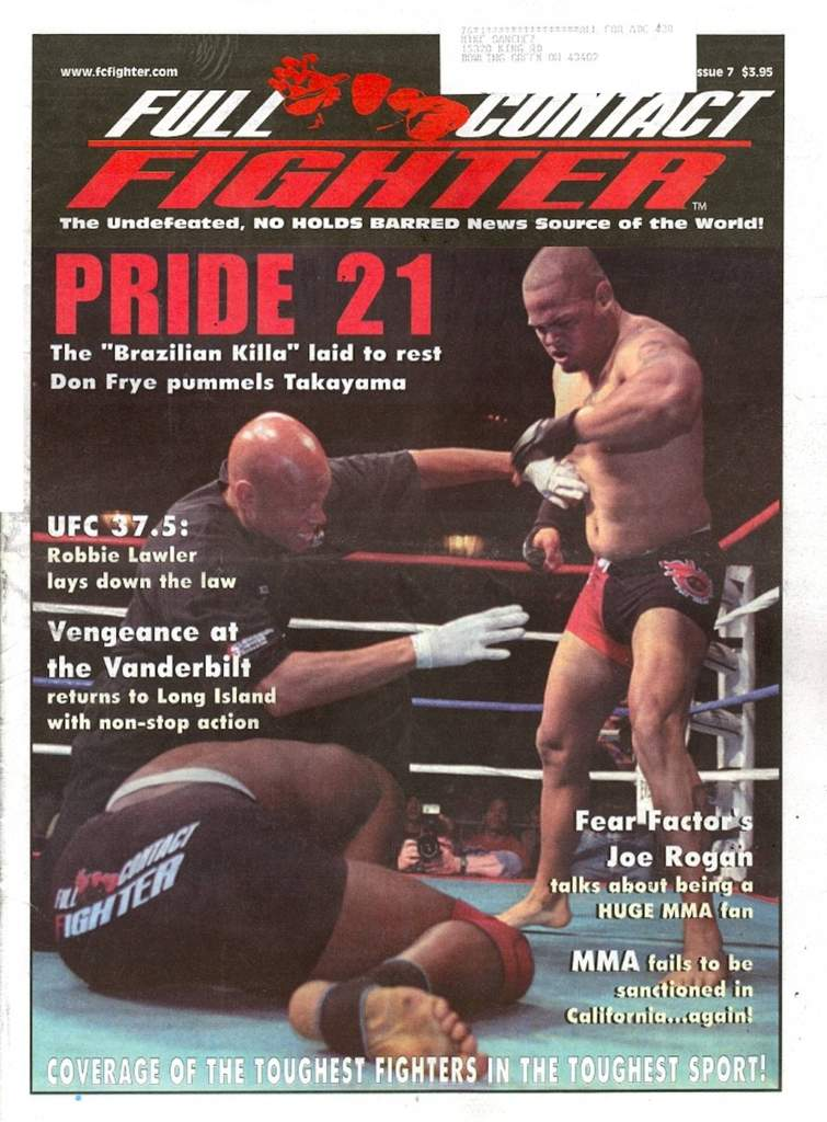 07/02 Full Contact Fighter Newspaper