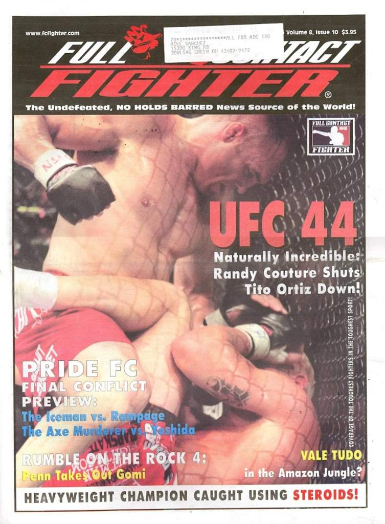 10/03 Full Contact Fighter Newspaper