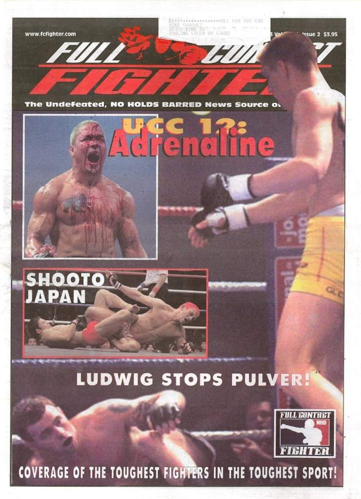 02/03 Full Contact Fighter Newspaper