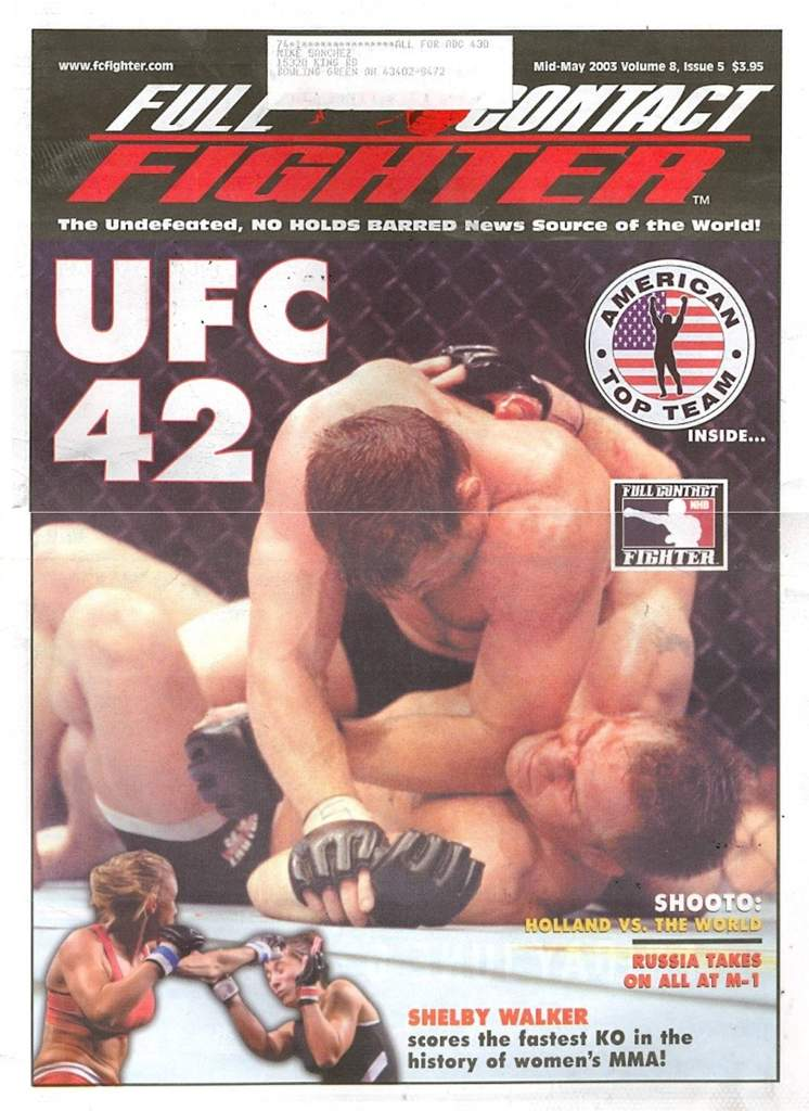 05/03 Full Contact Fighter Newspaper