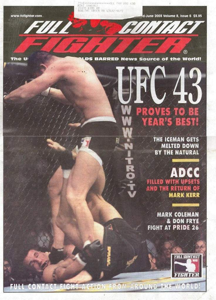 06/03 Full Contact Fighter Newspaper