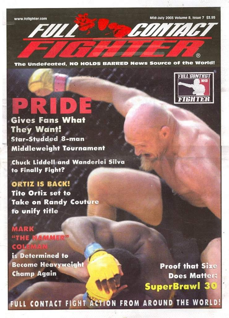 07/03 Full Contact Fighter Newspaper