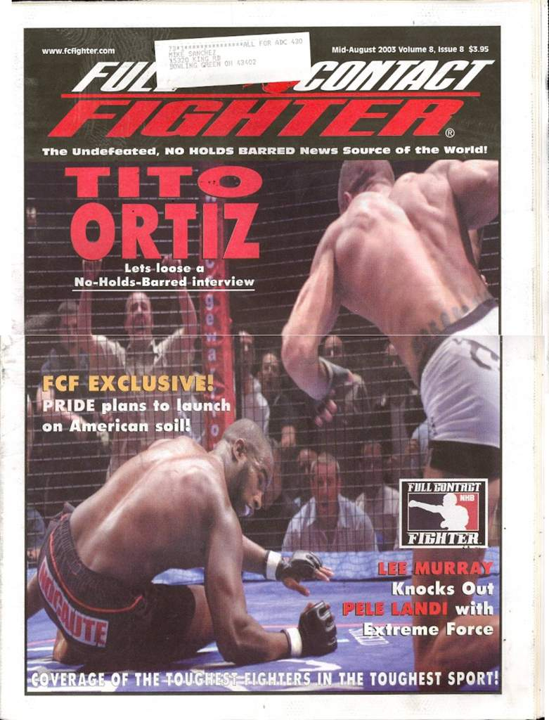 08/03 Full Contact Fighter Newspaper