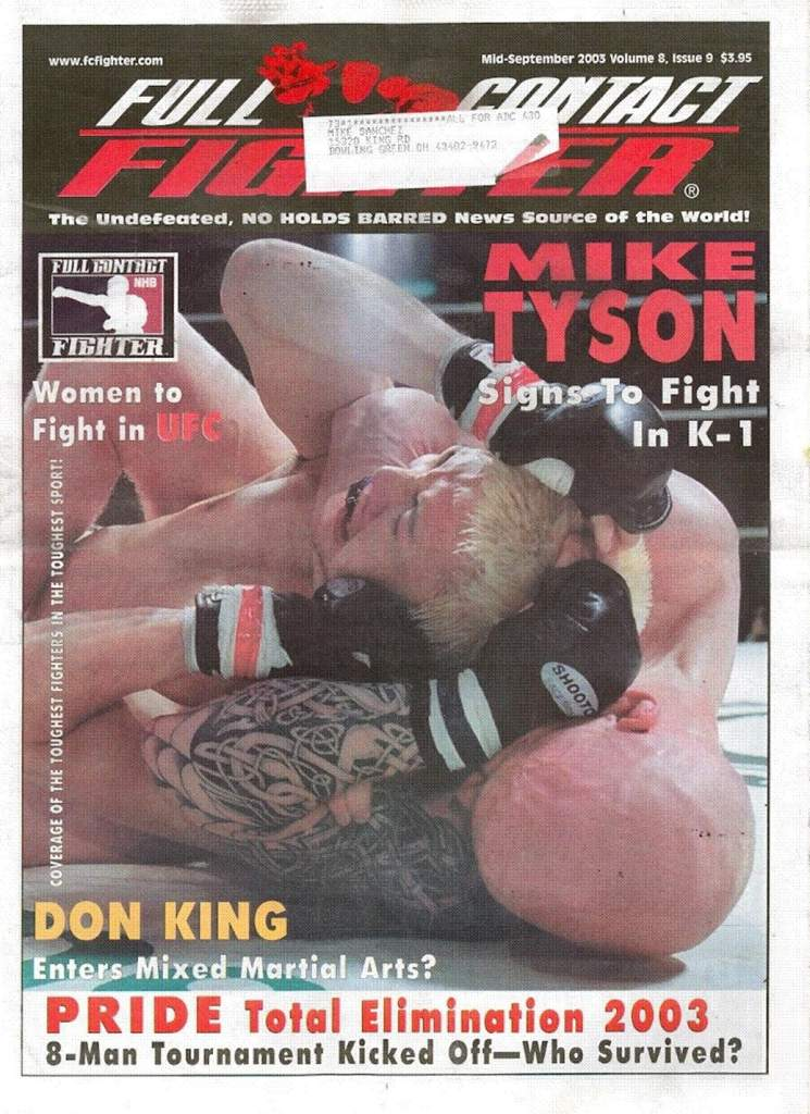 09/03 Full Contact Fighter Newspaper
