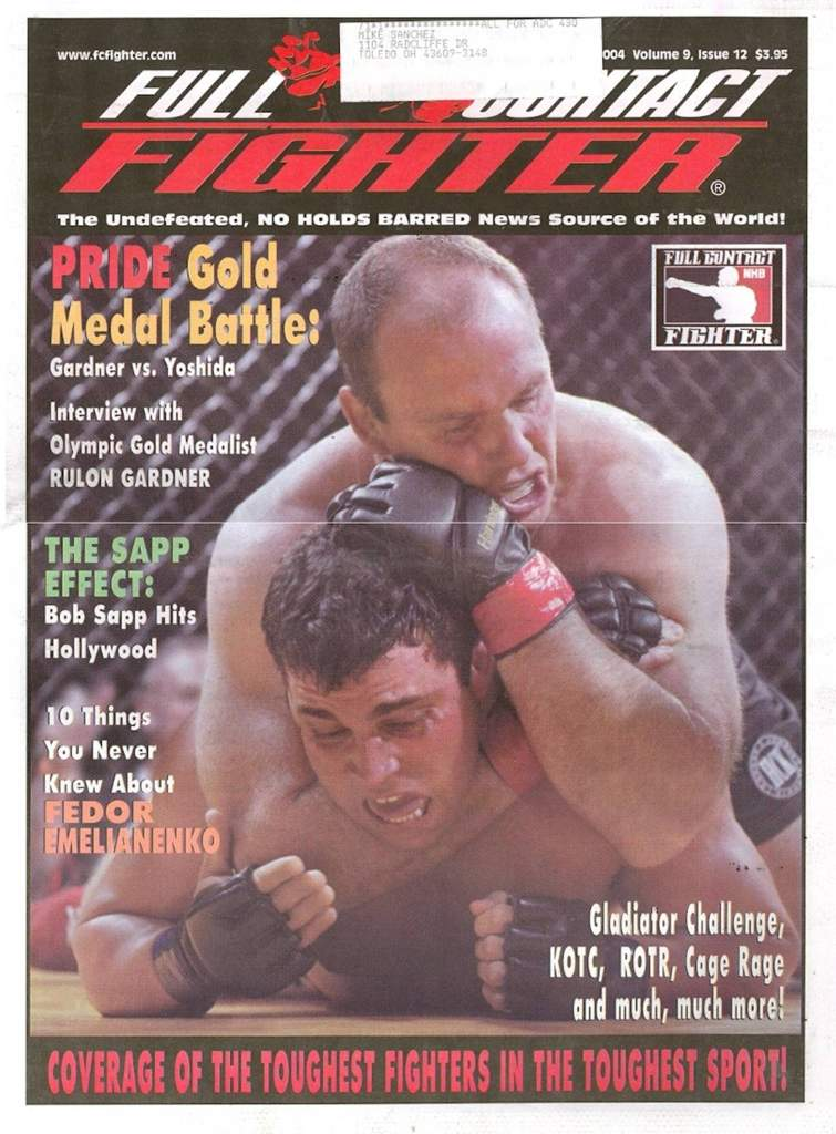 12/04 Full Contact Fighter Newspaper
