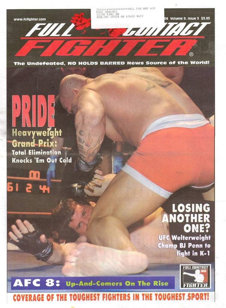 05/04 Full Contact Fighter Newspaper