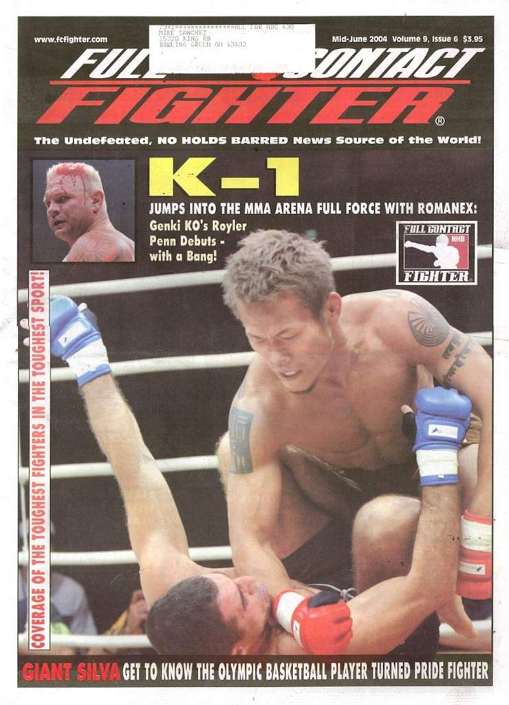 06/04 Full Contact Fighter Newspaper