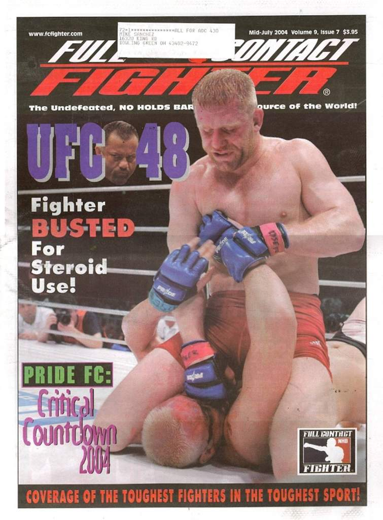 07/04 Full Contact Fighter Newspaper
