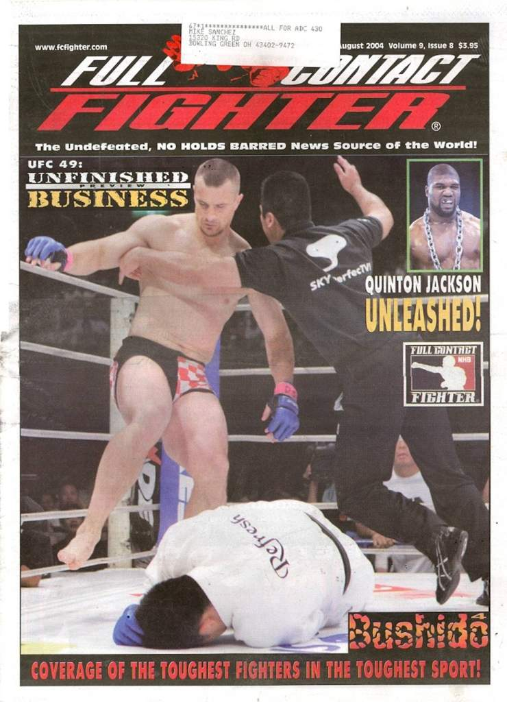 08/04 Full Contact Fighter Newspaper
