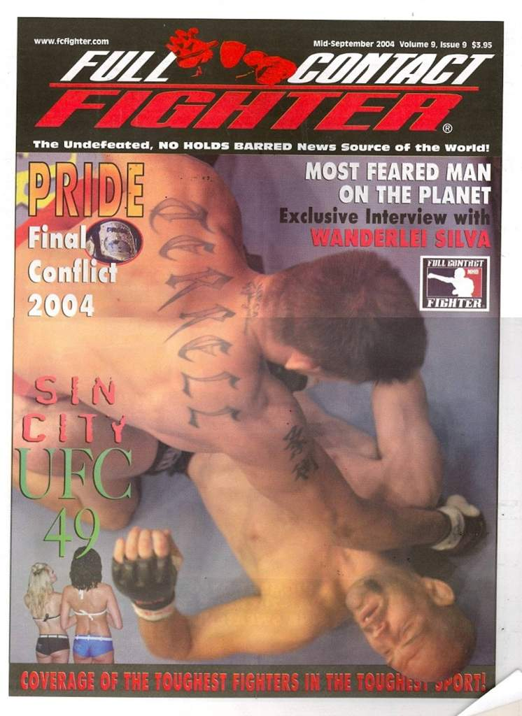 09/04 Full Contact Fighter Newspaper