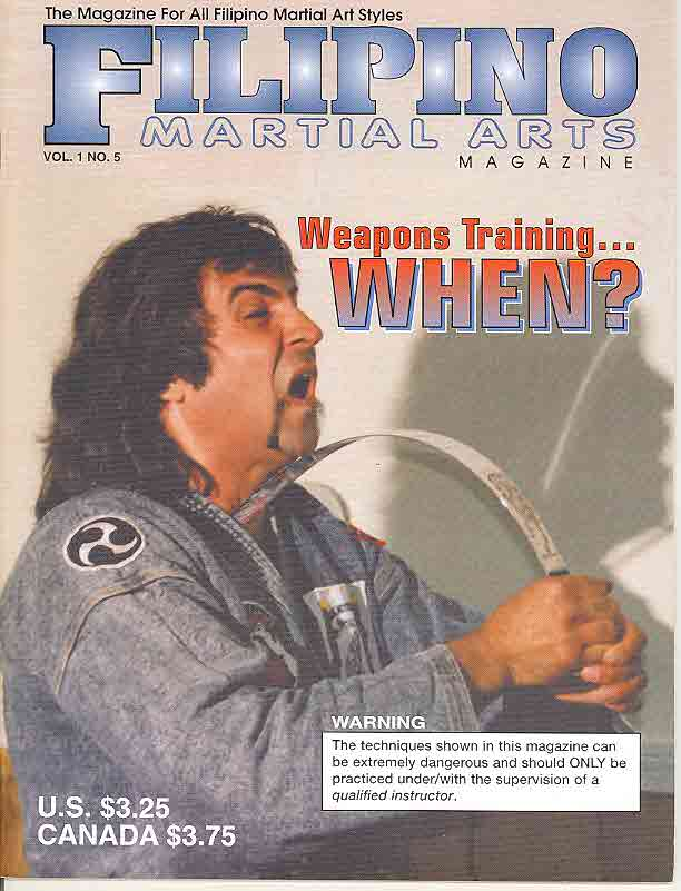 09/98 Filipino Martial Arts