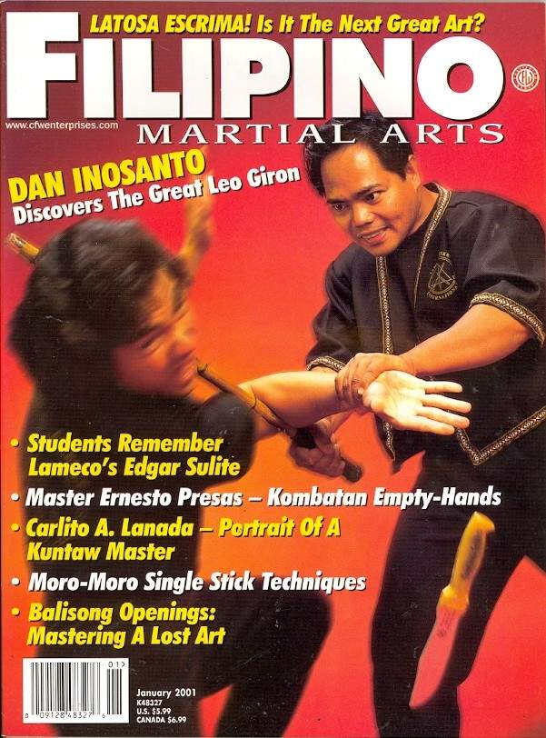 01/01 Filipino Martial Arts