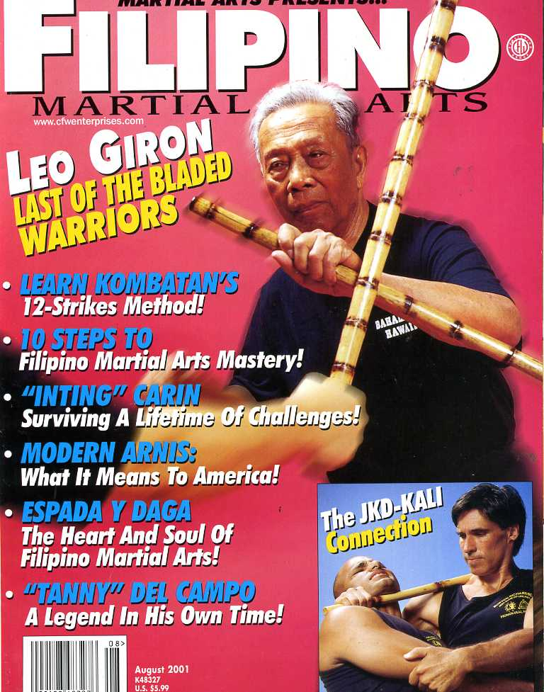 08/01 Filipino Martial Arts