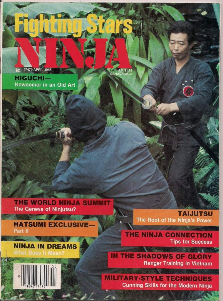 04/86 Fighting Stars Ninja