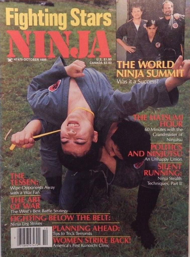 10/86 Fighting Stars Ninja