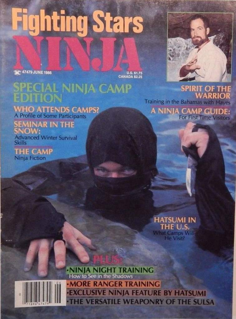 06/86 Fighting Stars Ninja