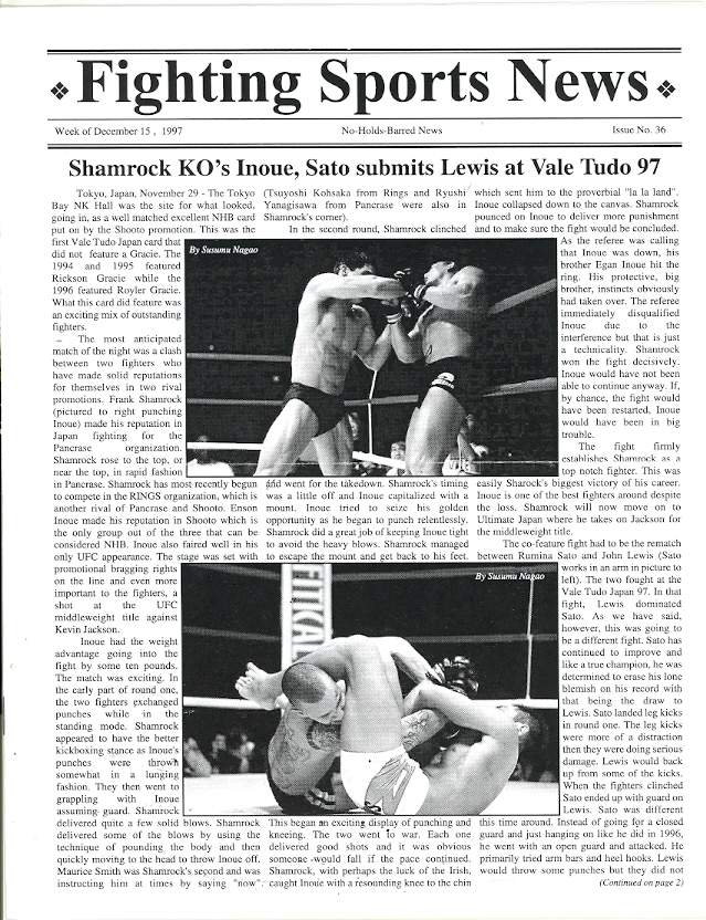 12/97 Fighting Sports News