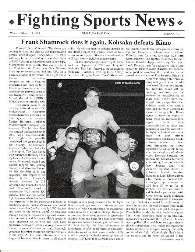 03/98 Fighting Sports News