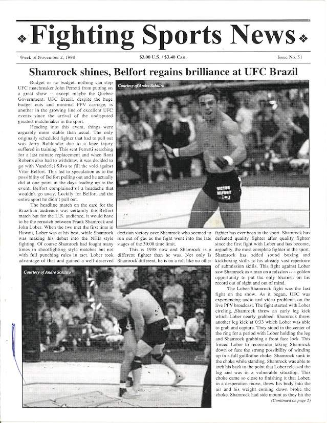 11/98 Fighting Sports News