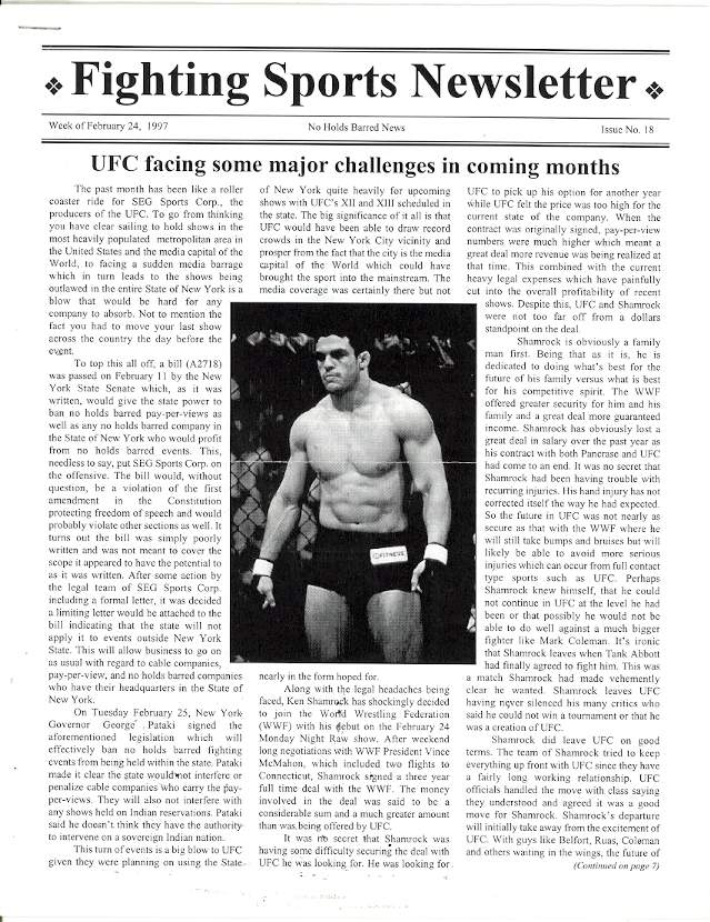 02/97 Fighting Sports Newsletter