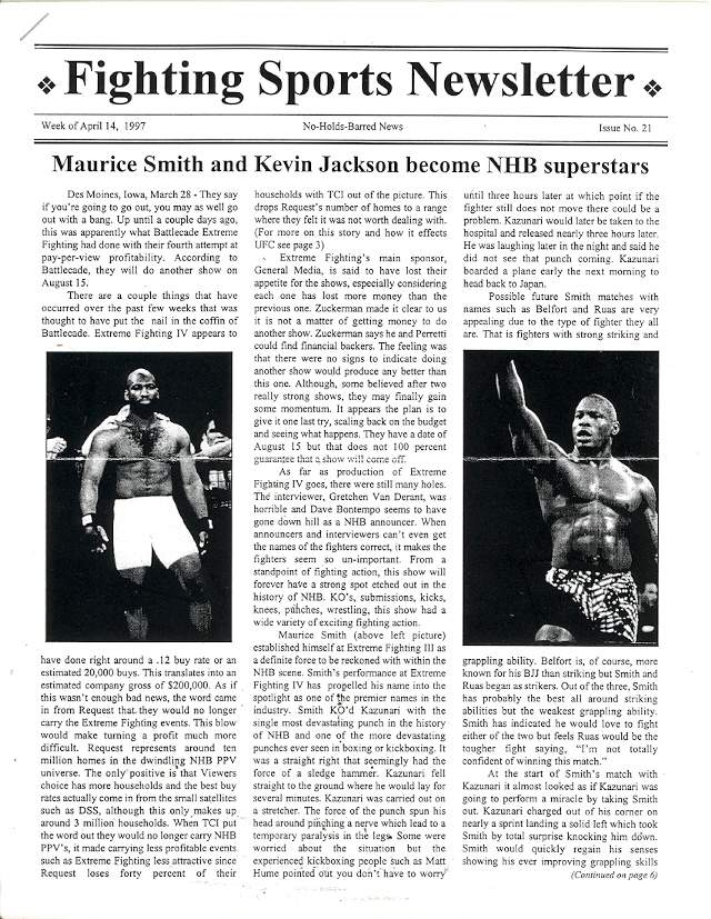04/97 Fighting Sports Newsletter