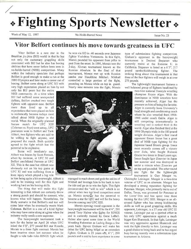 05/97 Fighting Sports Newsletter