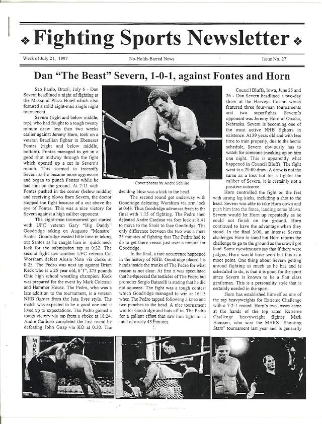 07/97 Fighting Sports Newsletter