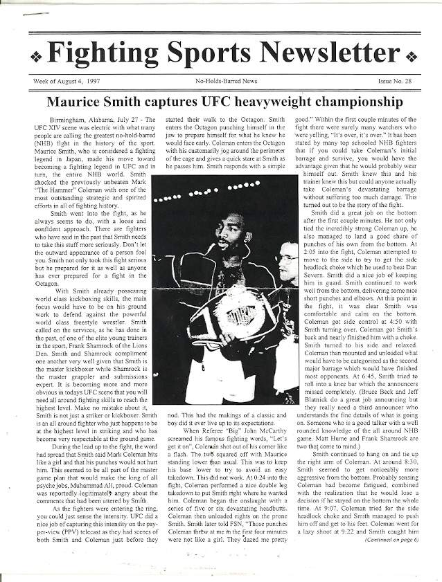 08/97 Fighting Sports Newsletter