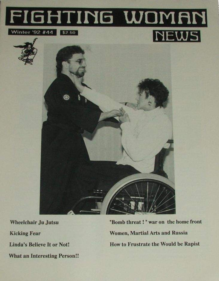 Winter 1992 Fighting Woman News