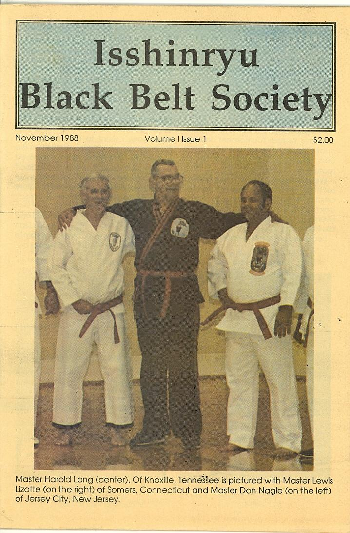 11/88 Isshinryu Black Belt Society