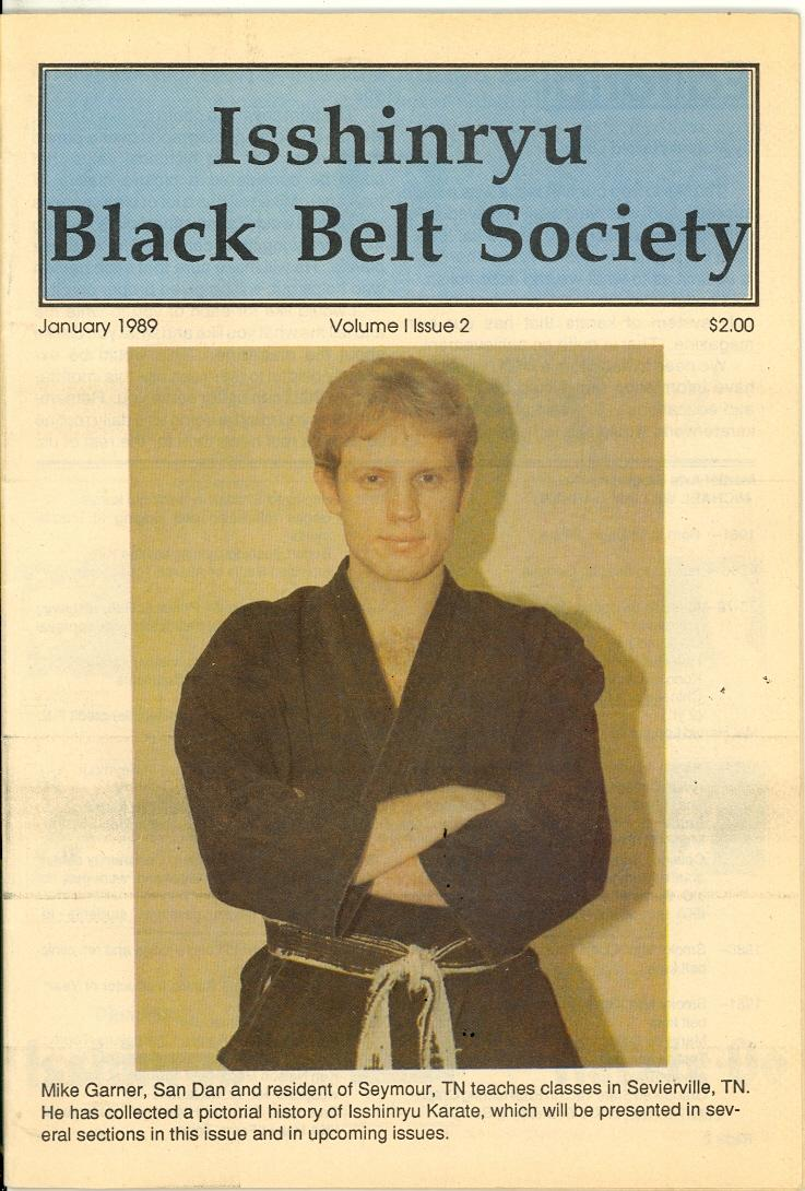 01/89 Isshinryu Black Belt Society