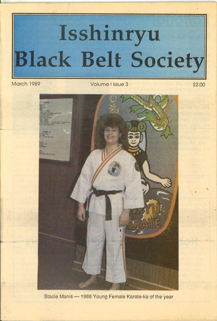 03/89 Isshinryu Black Belt Society
