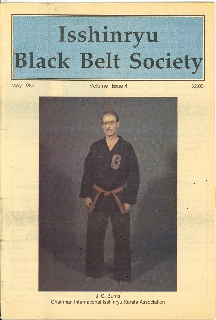 05/89 Isshinryu Black Belt Society