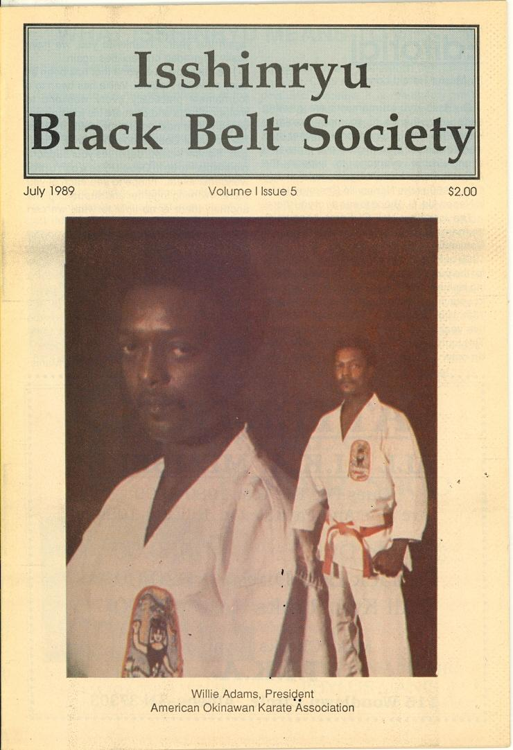 07/89 Isshinryu Black Belt Society