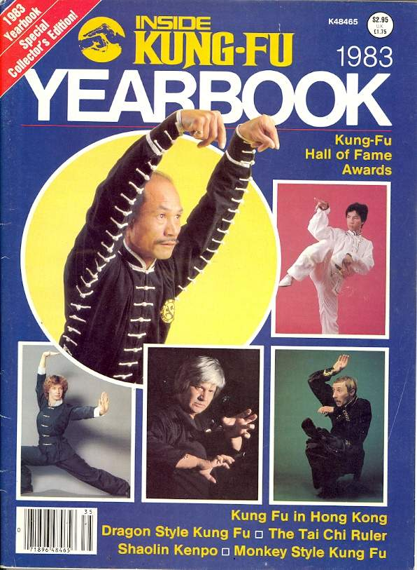 1983 Inside Kung Fu Yearbook