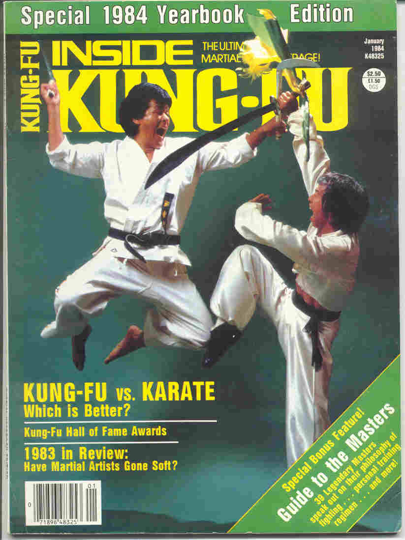 01/84 Inside Kung Fu Yearbook
