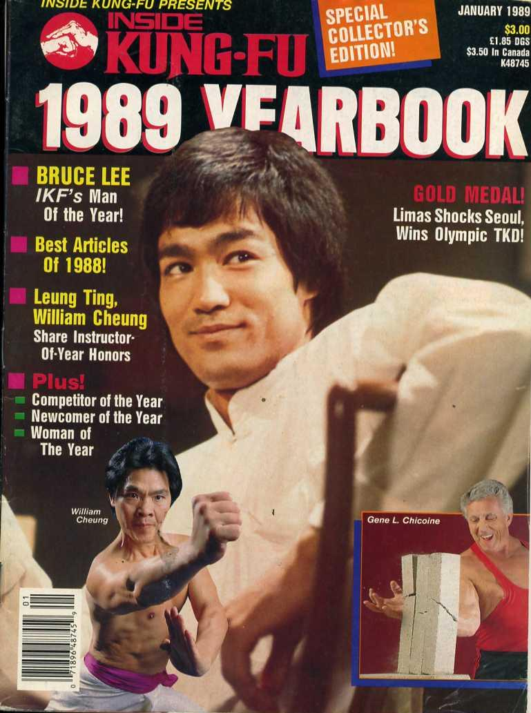 01/89 Inside Kung Fu Yearbook