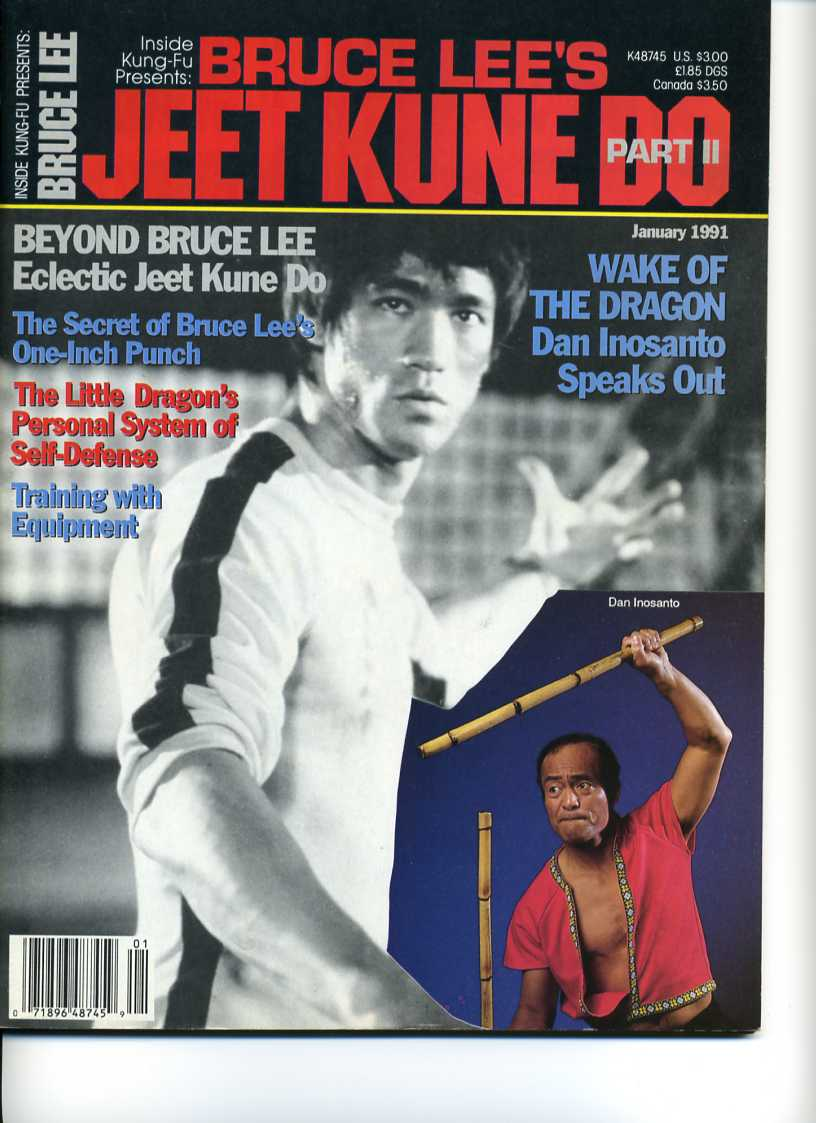 01/91 Bruce Lee Jeet Kune Do